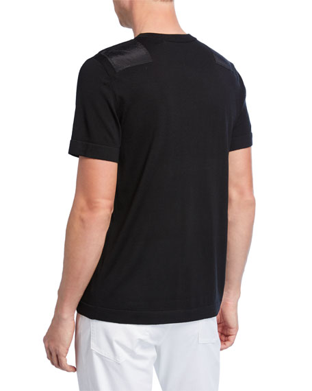 Men's Wool Patch T-Shirt