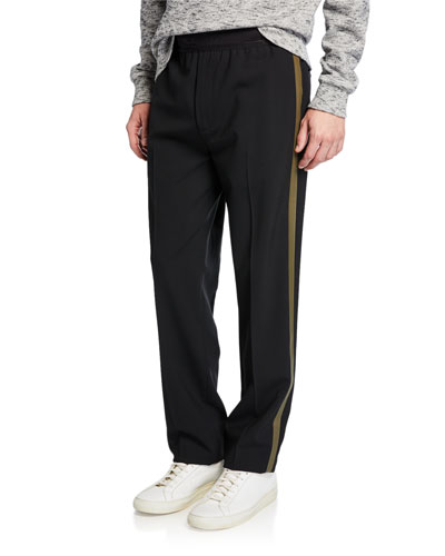 Men's Band Pull-On Track Pants