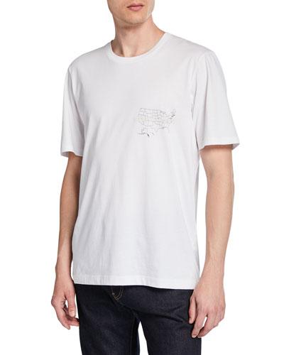 3c0b8c765b1 Men's Laws Graphic Short-Sleeve Jersey T-Shirt Quick Look. Helmut Lang