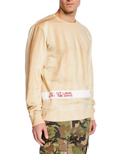 Men's Strange Day Logo Stripe Sweatshirt
