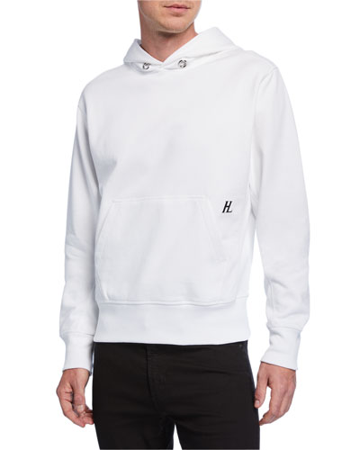 Men's Little Logo Pullover Hoodie