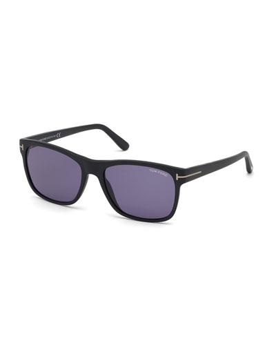 Men's Giulio Square Acetate Sunglasses
