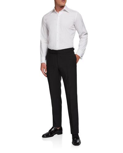 Men's Formal Wool/Mohair Dress Pants