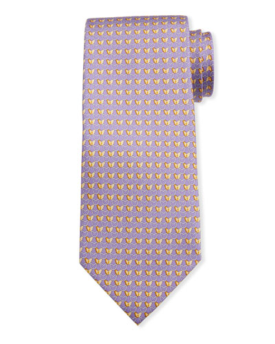 Men's Insetto Butterfly Silk Tie 4