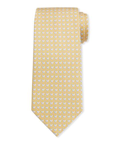 Men's Insetto Butterfly Silk Tie 7