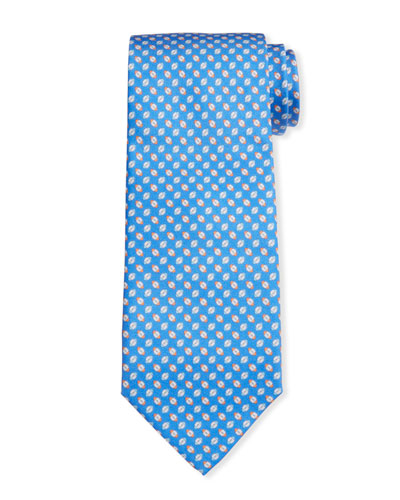 Men's Iconico Football Silk Tie 3