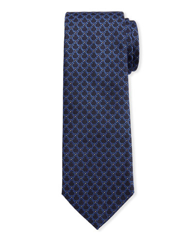 Men's Imperij Silk Tie  Blue