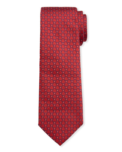 Men's Imperij Silk Tie  Red