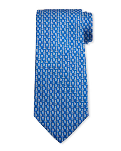 Men's Ibanez Guitars Silk Tie 3