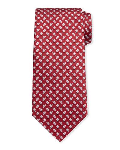 Men's Isola Hats Silk Tie 4