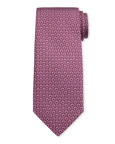 Men's Gancini Silk Tie 7