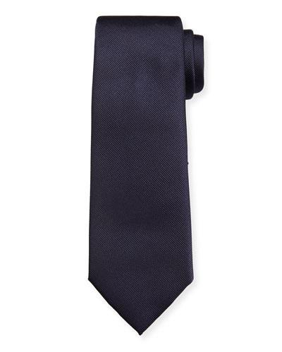 Men's Istamb Solid Silk Twill Tie 2