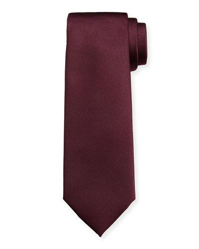 Men's Istamb Solid Silk Twill Tie 6