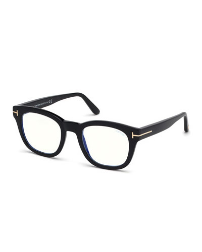 Men's Square Acetate Optical Glasses