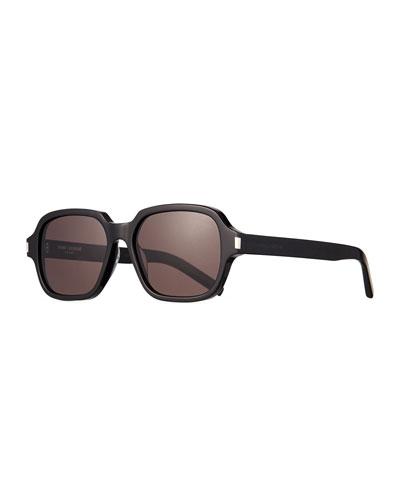 3fe25bc41474 Men's SL 292 Rectangle Acetate Sunglasses Quick Look. Saint Laurent