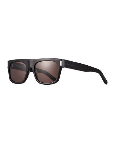 Men's SL 293 Rectangle Acetate Sunglasses