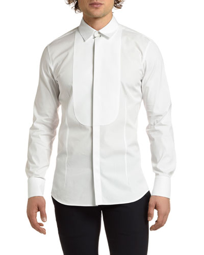 Men's Tuxedo Shirt with Bib