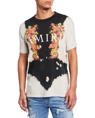 Men's Watercolor Dragon T-Shirt