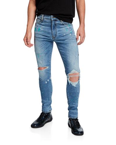 6237801d Men's Jeans : Skinny, Distressed & Stretch at Bergdorf Goodman