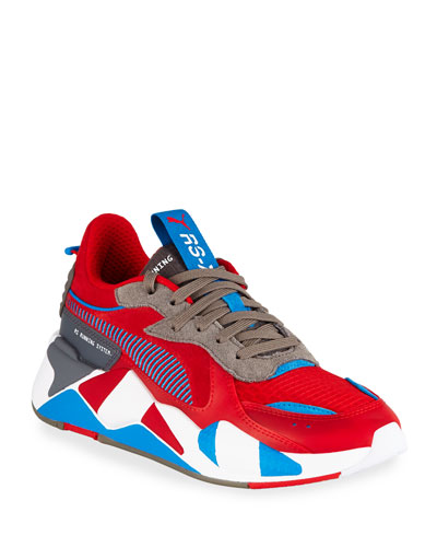 Men's RS-X Retro Mixed-Media Sneakers