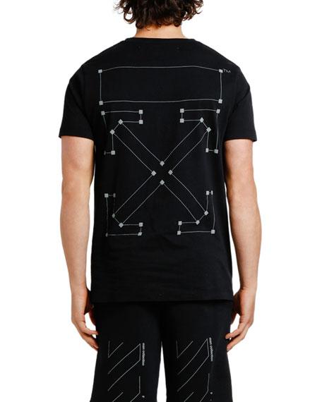 Men's Backbone Slim Graphic T-Shirt