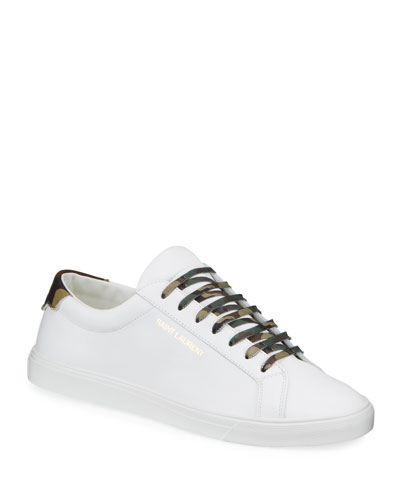 Men's Andy Low-Top Leather Sneakers