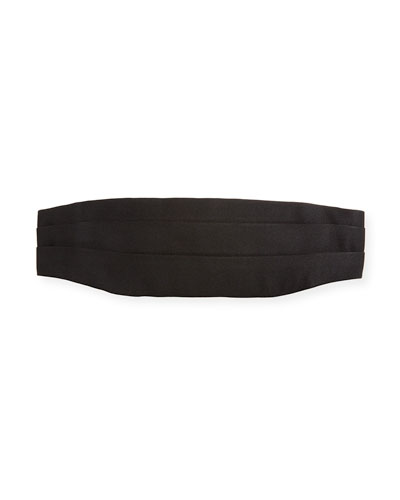 Men's Mulberry Silk Cummerbund