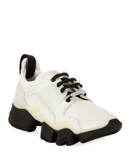 Men's Jaw Mixed-Media Chunky Sneakers