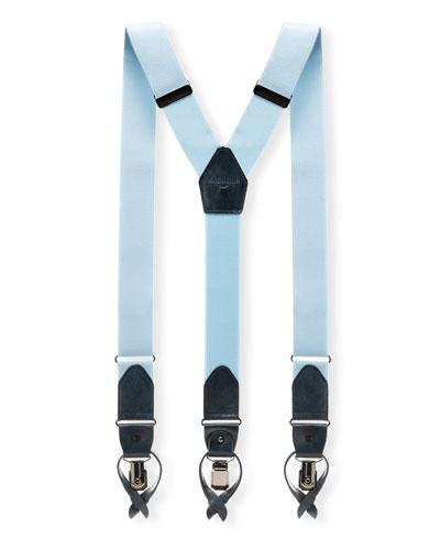 Men's Lindor Leather-Trim Braces