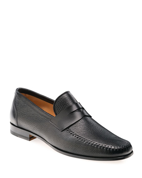 Men's Ramos Leather Penny Loafers