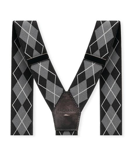 Men's Raleigh Leather-Trim Braces