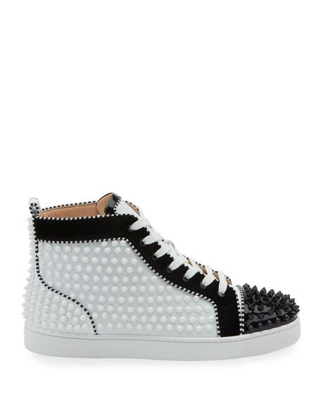 low cost c4e77 fe798 Men's Louis Spikes 2 Leather High-Top Sneaker