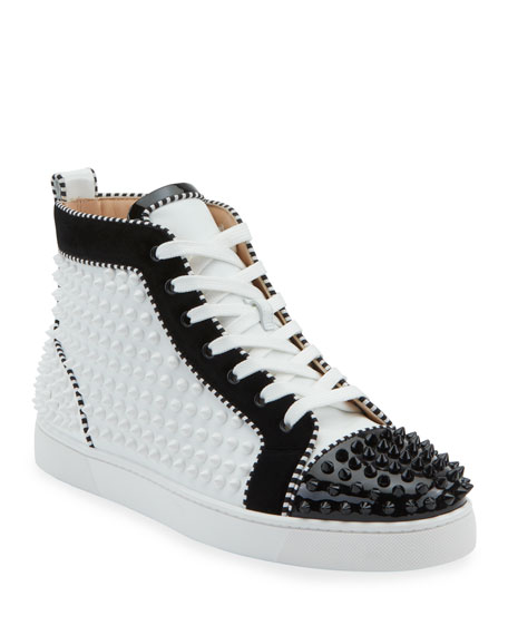 low cost 78203 c9be9 Men's Louis Spikes 2 Leather High-Top Sneaker