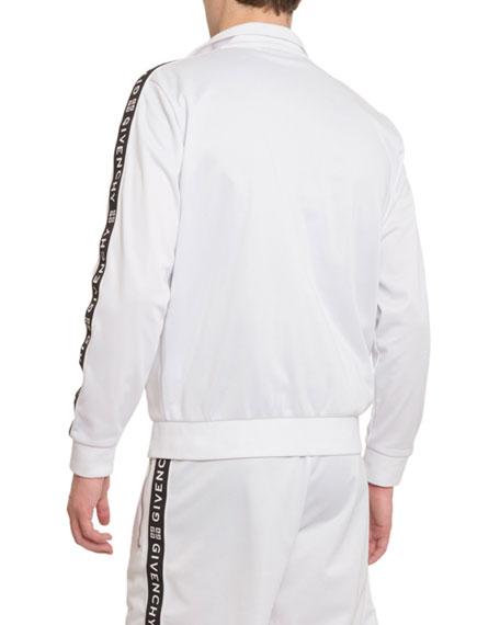 Men's Logo-Taping Track Jacket
