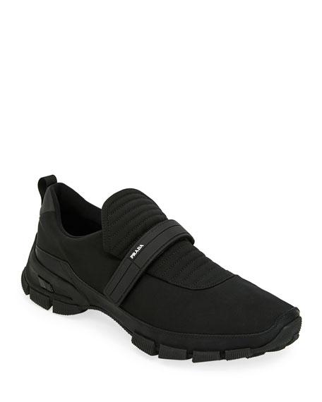 Men's Grip-Strap Runner Sneakers