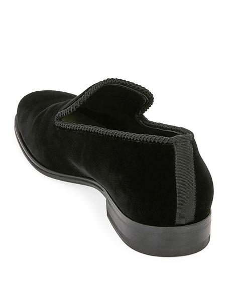 Men's Calf Suede Slip-On Dress Shoes