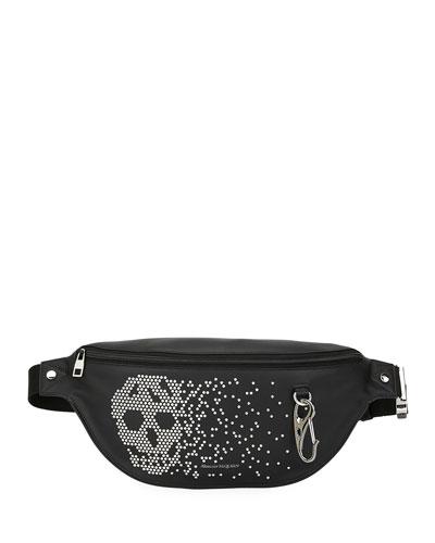 Men's Skull Oversized Belt Bag/Fanny Pack