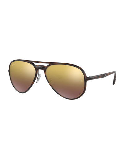 Men's Nylon Aviator Sunglasses