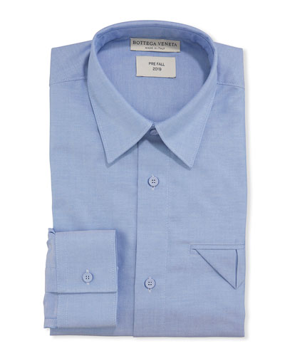 Men's Cotton Oxford Dress Shirt