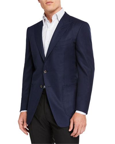 Men's O'Connor Hopsack Patch-Pocket Jacket