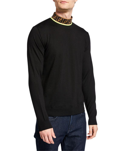 Men's FF Mock-Neck Fleece Sweater