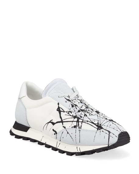 545e0c89f90 Men's Replica Paint Lace-Up Runner Sneakers