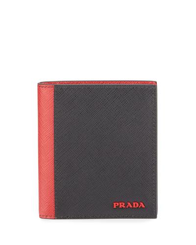 Men's Colorblock Wallet