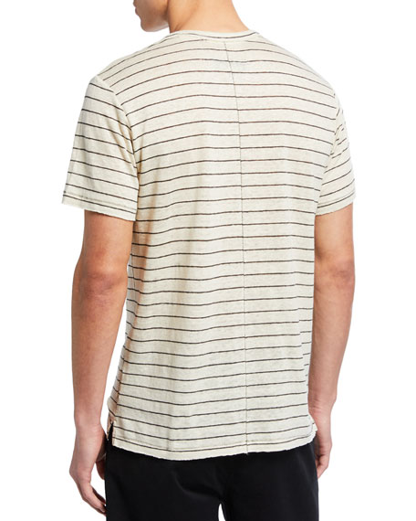 Men's Owen Striped Pocket T-Shirt