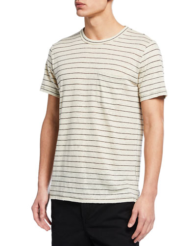 Men's Owen Striped Pocket T-Shirt