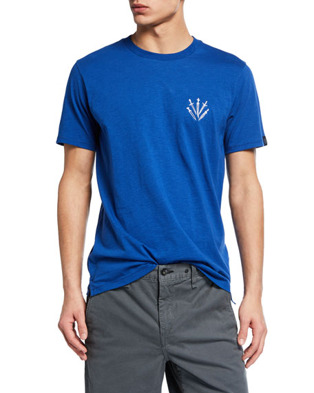 Men's Crewneck Short-Sleeve Dagger T-Shirt