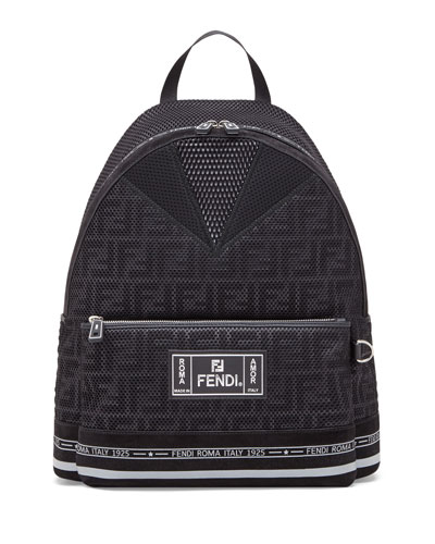 Men's FF Roma Amor Perforated Backpack