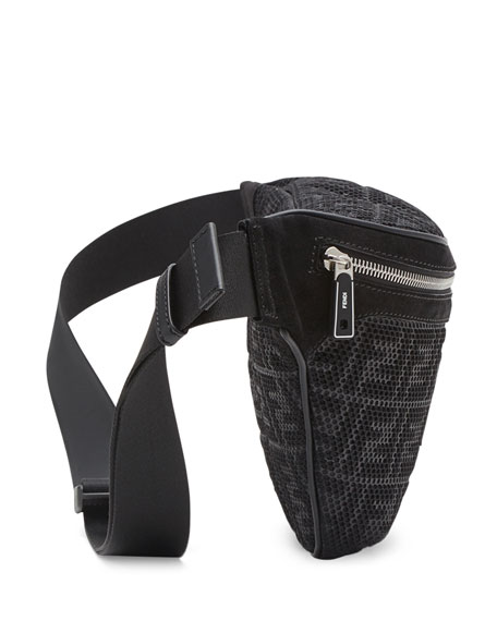 Men's FF Perforated Belt Bag/Fanny Pack