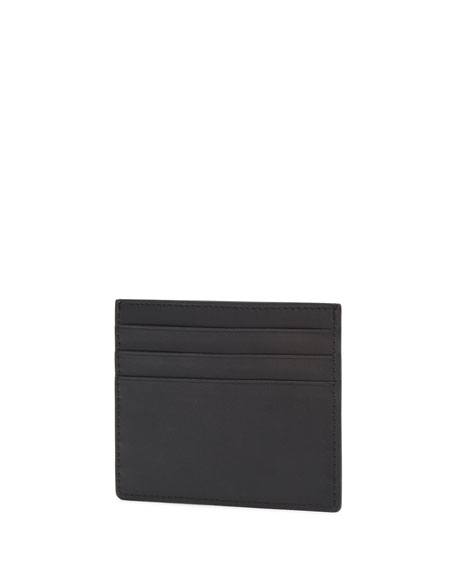Men's Monster Two-Tone Leather Card Case