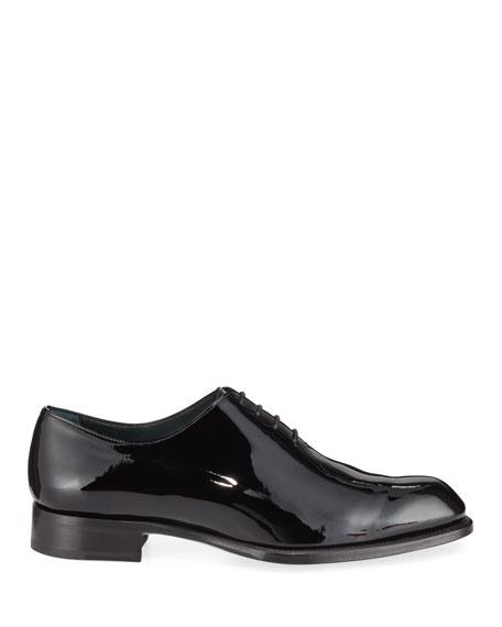 Men's Cardinal Whole-Cut Patent Leather Dress Shoes